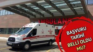 Sağlık Bakanlığı personel alımı başvuruları ne zaman yapılacak