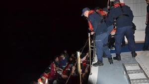 Çanakkalede 47 kaçak göçmen yakalandı