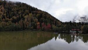 Borçka Karagölün muhteşem sonbahar güzelliği