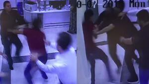 Acil serviste doktorları dövmüşlerdi Görüntüleri ortaya çıktı
