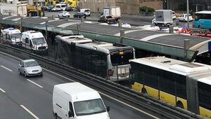 İETT, metrobüs kazaları için harekete geçti