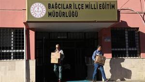 Bağcılar İlçe Milli Eğitim Müdürlüğünün tahliyesine başlandı
