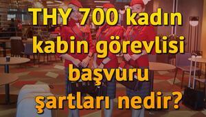 THY 700 kadın kabin memuru alımı başvuru şartları neler THY kabin memuru başvuru ekranı