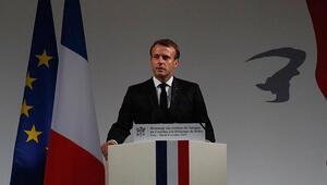 Son dakika... Fransa Cumhurbaşkanı Macrondan skandal görüşme