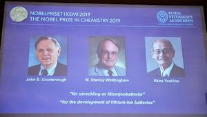 2019 Nobel Kimya Ödülünü kazananlar açıklandı