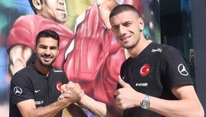 Zeki Çelik ve Merih Demiral'dan Arnavutluk maçı öncesi açıklamalar