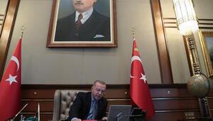 İşte Cumhurbaşkanı Erdoğan'ın harekatın emrini verdiği o an