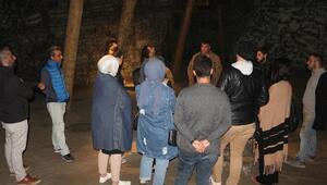 5 bin yıllık tuz mağarasında ders