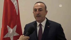 Dışişleri Bakanı Mevlüt Çavuşoğlu, Barış Pınarı Harekatı'na ilişkin açıklamalarda bulundu