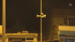 Belediye hoparlörlerinden mehter marşı çalınıyor