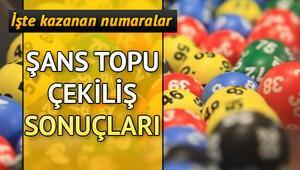 Şans Topunda 1 milyon devretti 9 Ekim Milli Piyango Şans Topu çekiliş sonuçları