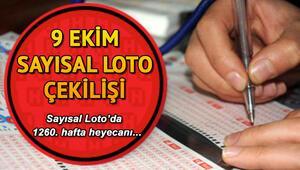 Sayısal Loto 6. kez devretti, ikramiye 11 milyona yaklaştı 9 Ekim MPİ Sayısal Loto çekiliş sonuçları