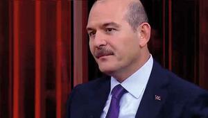İçişileri Bakanı Süleyman Soylu, CNN TÜRK canlı yayınında açıklamalarda bulundu