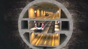 3 katlı büyük İstanbul tüneli için geri sayım