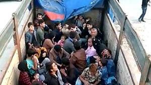 Çanakkalede 77 kaçak göçmen yakalandı