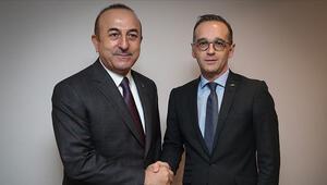 Son dakika... Bakan Çavuşoğlu, Alman mevkidaşı ile görüştü