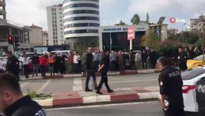 Kartal Anadolu Adliyesinde silah sesleri