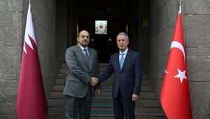 Bakan Akar, Katar Savunma Bakanı Al Attiyah ile telefonda görüştü