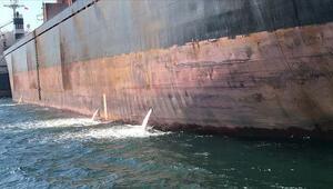İzmit Körfezini kirleten gemiye rekor ceza