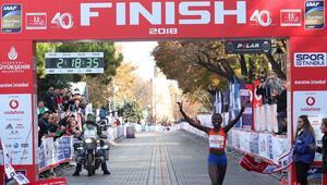 Vodafone 41. İstanbul Maratonunda 4 yılın şampiyonları sahne alıyor