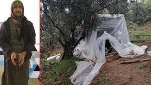 5 yıldır aranan şüpheli, ormanda kadın kıyafetiyle yakalandı