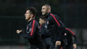 A Milli Takım, Arnavutluk maçına hazır