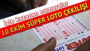 Süper Lotoda 10 milyon TL devretti MPİ Süper Loto çekiliş sonuçları (10 Ekim 2019)