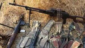 Resulayn'da teröristler silah ve mühimmatlarını bırakarak kaçtı