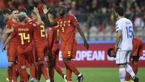 Belçika rakibine acımadı Tam 9 gol...