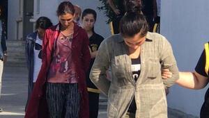 1'i hamile 3 kadın yakalandı Şehirlerarası soygun...