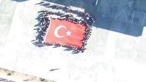 Sivasta, öğrencilerden Mehmetçiğe destek