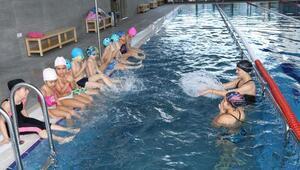 Çankayada öğrenciler beden eğitimi dersinde yüzme eğitimi alacak