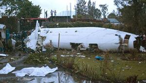 Son dakika... Demokratik Kongo Cumhuriyetinde kargo uçağı düştü