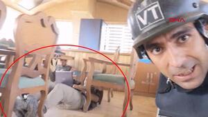 Teröristlerden gazetecilere ikinci saldırı İşte o dehşet anları...