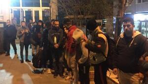 Keşanda 23 kaçak göçmen yakalandı