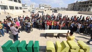 Suriyedeki öğrencilere Seyyar Müze etkinliği