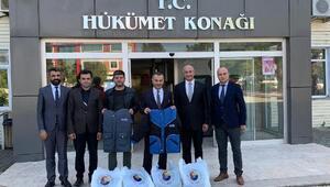 Çerkezköy TSOdan öğrencilere kaban yardımı