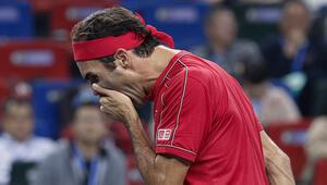 Federerden Şanghay Mastersa erken