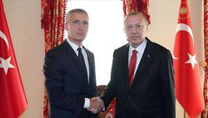 Cumhurbaşkanı Erdoğan Stoltenbergi kabul etti