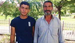 Dedektif gibi iz süren baba, oğlunu cezaevinden kurtardı