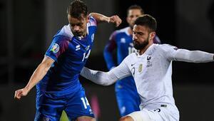 İzlanda - Fransa: 0-1