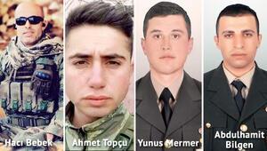 4 asker şehit oldu