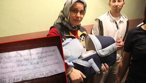 1,5 aylık bebek, kundağındaki notla terk edildi