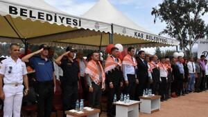 Kaşta Kapya Biber Festivalinin ilki düzenlendi