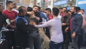 Sirkecide ortalık karıştı Polis köpekle müdahale etti