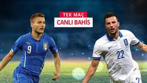 İtalya, Euro 2020yi garantilemek için sahada iddaada oynanması gereken...