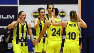 Fenerbahçe Öznur Kablo sezona farklı başladı Beşiktaşa 43 sayı...