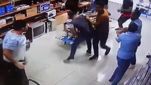 İş yerini basıp, çalışanları dövdüler
