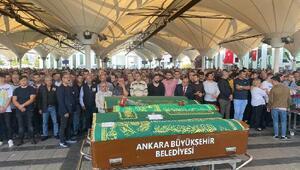 Meslektaşının öldürdüğü doktor, Ankarada toprağa verildi
