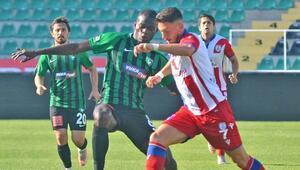 Denizlispor hazırlık maçında Altınorduyu mağlup etti
